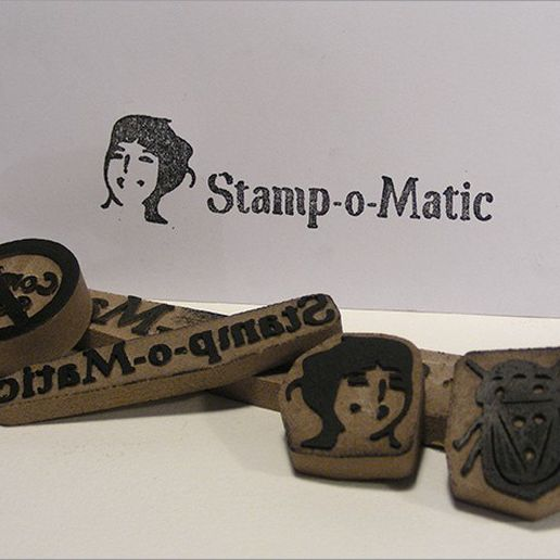 stamp_o_matic_display_large.jpg Télécharger fichier STL gratuit Timbre-o-o-Matic • Design imprimable en 3D, Azagal