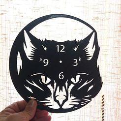 f76ed3419971fb58a5ac428916ae2134_display_large.jpg Download free STL file Reloj gato v3 • 3D printable design, 3dlito