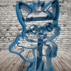 untitled.112.jpg Download free STL file Pinkfong - cookie cutter • 3D printer design, covidgato