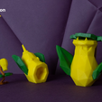 pokemon-low-poly007.png Download file Low Poly Pokemon Collection 151 • 3D printable object, 3D-mon