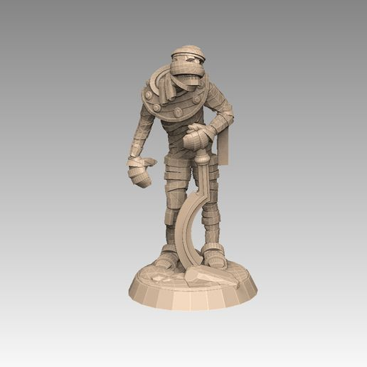 mh1prome.jpg Download STL file Mummy Pack 1 • 3D printing object, SharedogMiniatures