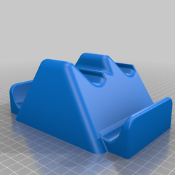 Controller-Stand-Double-XBOX-ONE.png Download free STL file XBOX Controller Double Stand • Template to 3D print, powerprobot