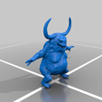 nurgling_5.png Download free OBJ file Adorable little fat rotting horned swarmy things • 3D printing design, gepardowaty
