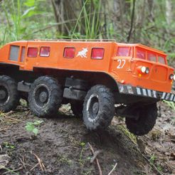 P6140826.JPG Download free STL file ZiL-E167 - RC soviet truck • 3D printing template, gamebox13
