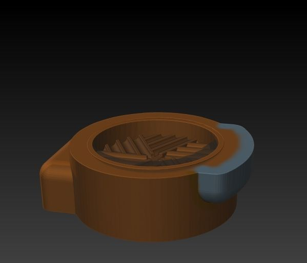 AmongHead2.jpg Download STL file Among Grinder • 3D print design, MattDesign3D