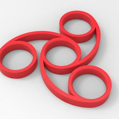 untitled.831.jpg Download STL file Hand Spinner • Template to 3D print, Guich
