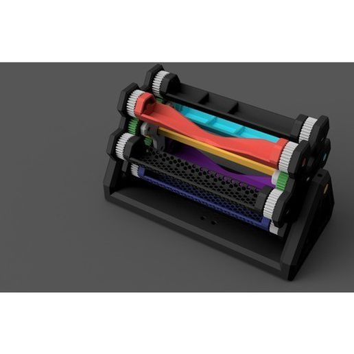 6a86f6835a714cba6f03bb631de2b9f3_preview_featured.jpg Download free STL file Clockwork pen carousel • Object to 3D print, EvolvingExtrusions
