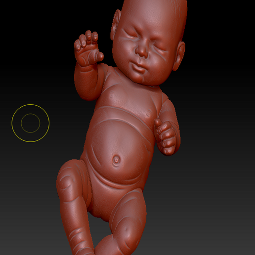 BABY (3).png Download OBJ file little baby 3D print model • 3D printer model, DesignerWinterson