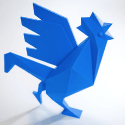 Capture d'écran 2018-03-26 à 14.54.15.png Download free STL file The Official Cock of the French Fab to print in 3D • 3D print design, Volumic3D