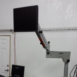 20150227_193915-cropped.jpg Download free STL file Zeiss Surgical Arm Monitor Stand • 3D printing design, dhulihan
