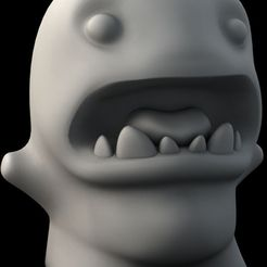 edward_spook_display_large.jpg Download free STL file monster Mr Edward Spook • 3D printer design, Durbanarb