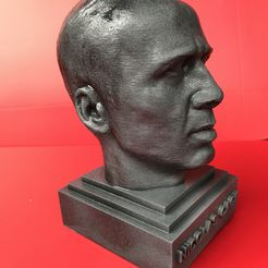 IMG_0715.JPG Download STL file Nicolas Cage sculpture 3D print ready • 3D printing object, MarcArt