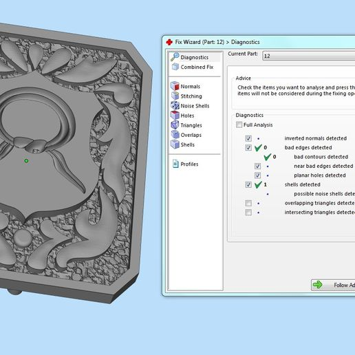 12.jpg Download 3DS file signet ring with heraldic • 3D print template, sergotall1977