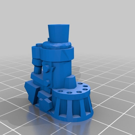 55a9128bef34172d73e344297a0c2462.png Download free STL file Ork Warlord or Ghaz using a Dreadknight • Template to 3D print, JtStrait72