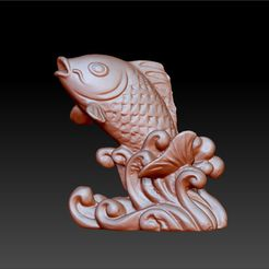 fish3d1.jpg Download free STL file fish for free • 3D print object, stlfilesfree