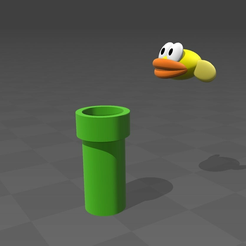 flappy.png Download free STL file Flappy bird • Design to 3D print, tyh