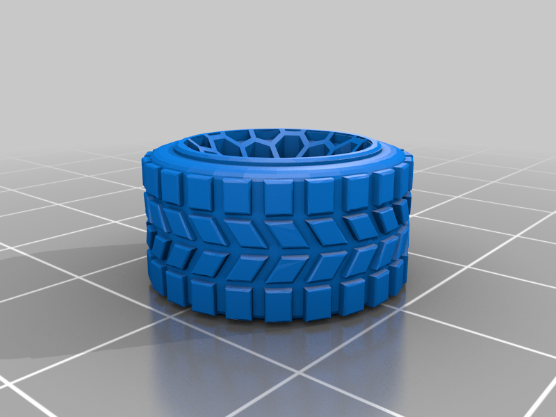 justy_honeycomb_wheel.png Télécharger fichier STL gratuit SUBARU JUSTY J12 AWESOME RALLY GROUP B CAR • Plan pour impression 3D, Marcus_GT500