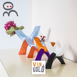 covervirgol.jpg Download STL file Virgolò - minimalistic vase • 3D print object, CKLab