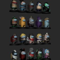 amongas3.jpg Download STL file Among us- League of Legends pack • Model to 3D print, AgustinAguirre06