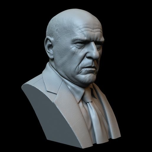 Hank02.RGB_color.jpg Download STL file Hank Schrader (Dean Norris) from Breaking Bad • Template to 3D print, sidnaique
