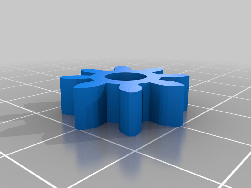 Simple_Gear.png Download free STL file VW GEAR KEY CHAIN • Model to 3D print, GREGCAR_3DPrinting