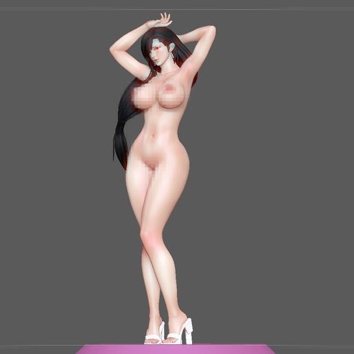20.jpg Télécharger fichier STL TIFA SEXY NAUGHTY NAKED HENTAI VERSION FINAL FANTASY CHARACTER ANIME STATUE 3D MODEL • Objet pour impression 3D, figuremasteracademy