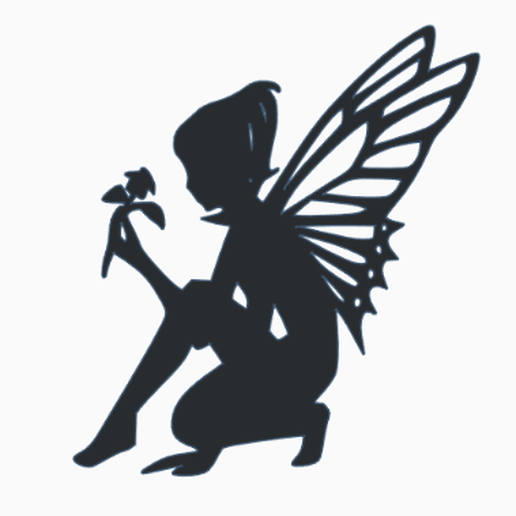 fairy fores.PNG Download free STL file forest fairy - necklace  • 3D printing model, sparki0007
