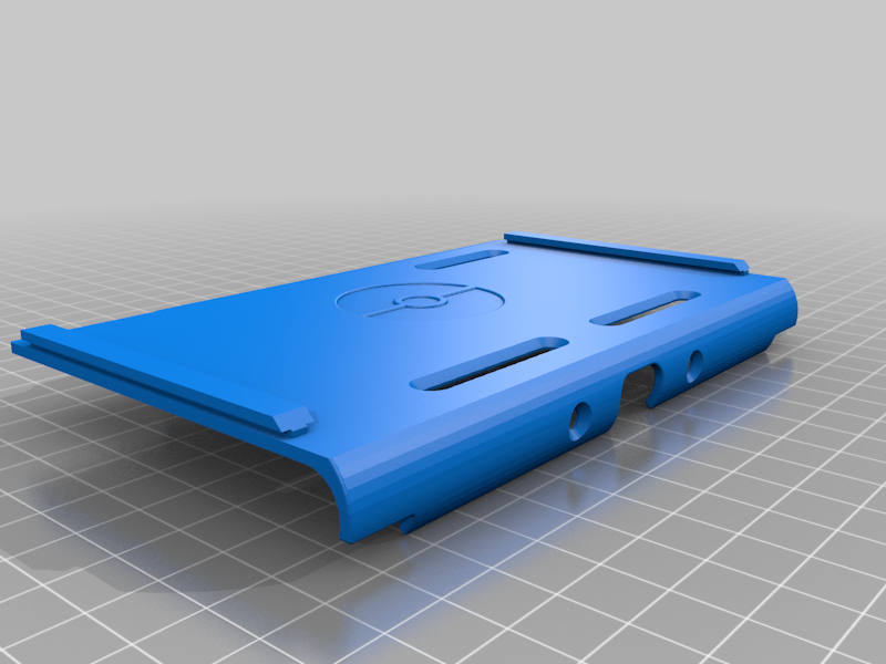 Main_Body_Pokemon.png Download free STL file Switch Lite Grip/Cover • 3D printer object, CraftyNerd