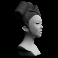 1a.png Download STL file ghost in the shell - geisha - complete edition • 3D printing object, exclusive3dprinting