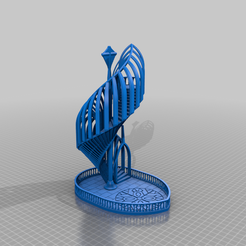 gothicstairway.png Download free STL file Gothic Stairway Dice • Model to 3D print, SpaceDog3D