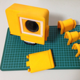 Capture d'écran 2017-05-30 à 14.32.38.png Download free STL file Rain Poncho for GoPro Hero3 mounting frame • 3D printer object, CyberCyclist