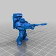 4_Laser.png Download free STL file Angelic Space Soldiers with Heavy Weapons • Template to 3D print, PhysUdo