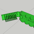 Peigne SDB.png Download STL file Comb / Brush Multifunction - Multifuction Comb / Brush • 3D printable template, 3ID