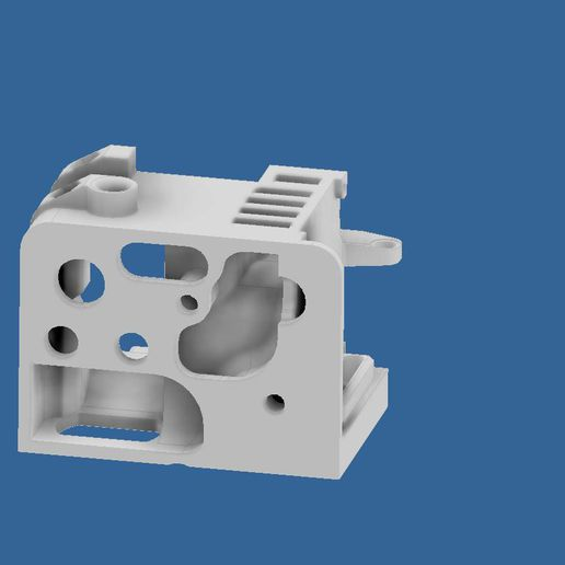 extruder-cover-ender-3-6.jpg Download STL file Compact Сreality Ender 3 extruder protection (cover) with provided standard cooling locations and mount for BL Touch (3D Touch) • 3D print object, CompadreVlad