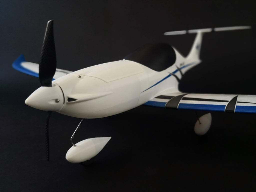 IMG_20200527_145522.jpg Download free STL file Rc airplane Eclipson Model D - complete fuselage for testing • Template to 3D print, Eclipson