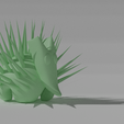 herrisson.png Download free STL file Mexican hedgehog • 3D printer object, NathanFrn