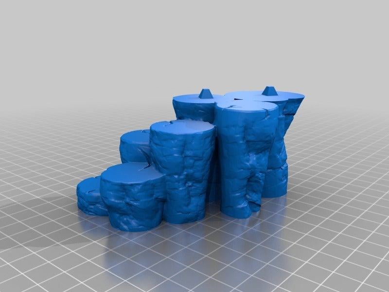 609886b5281ff88ffff0a66e6be36f86.png Download free STL file OpenForge - Place of Power - Chaos Pillars • Object to 3D print, ec3d