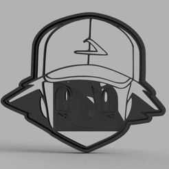 Ash_Cortante.JPG Download STL file Pokemon Pack 01 Cookie Cutters • 3D printable template, facueze