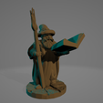 Wise Old Wizard.png Download STL file Wise Old Wizard • 3D printing template, Ellie_Valkyrie