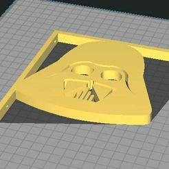 Darth Vader.JPG Download STL file Shelf Bracket, Darth Vader • 3D print object, lyvearch