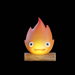 calcifer.png Download STL file Calcifer from Howl's Moving Castle • Design to 3D print, anichinidaniel