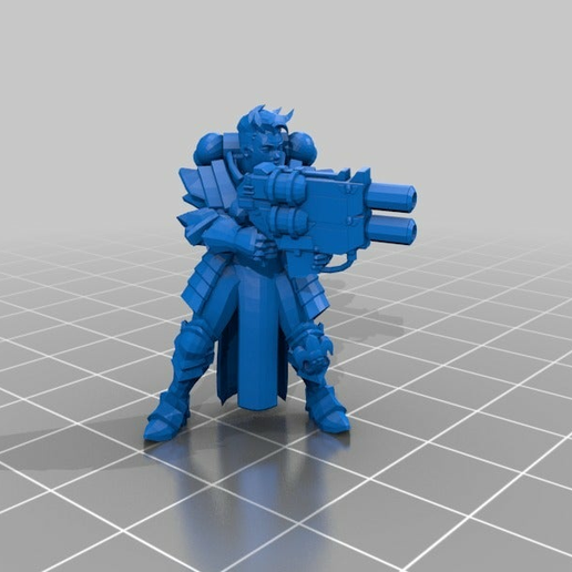 86a8da6a004e8181b664d6af3b810783.png Download free STL file Meltagun and Multi-Melta for Sisters of Battle • 3D printer object, PhysUdo