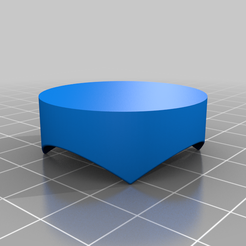 Tripod__Pad_v2.png Download free STL file Widget Puck (for Tripod)! • 3D printable object, DIY3DTech