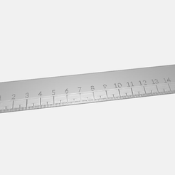 Ruler_15mm.png Descargar archivo STL gratis Regla 15mm • Plan para imprimir en 3D, rovanni