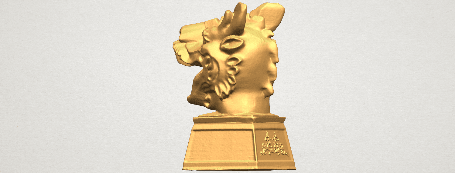 TDA0512 Chinese Horoscope of Dragon 02 A04.png Download free STL file Chinese Horoscope of Dragon 02 • 3D printer template, GeorgesNikkei