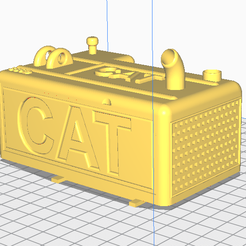 Capture.PNG Download STL file huina engine hood • 3D printable template, newwmikl
