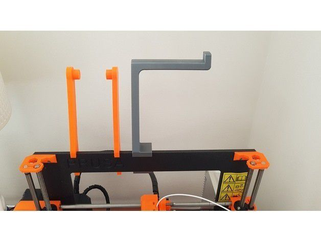 1f51827810d427ff046cb19163982064_preview_featured.jpg Download free STL file Improved Spool Holder for the Original Prusa i3 MK2 • Model to 3D print, Mirketto