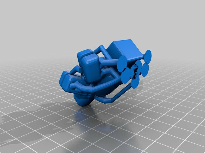 MortyClaws_fixed_sup.png Download free STL file Morty Claws (with support) • 3D printer template, ThinkerThing
