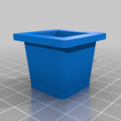 SubstraitHolder_V2.png Download free STL file Mini Hydroponics germination tray • 3D printing template, jboneng