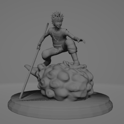 Sin título.png Download free STL file Naruto dragon ball • 3D printable model, ARTCRAFT3D